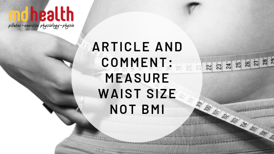 Article and Comment – Measure waist size not BMI