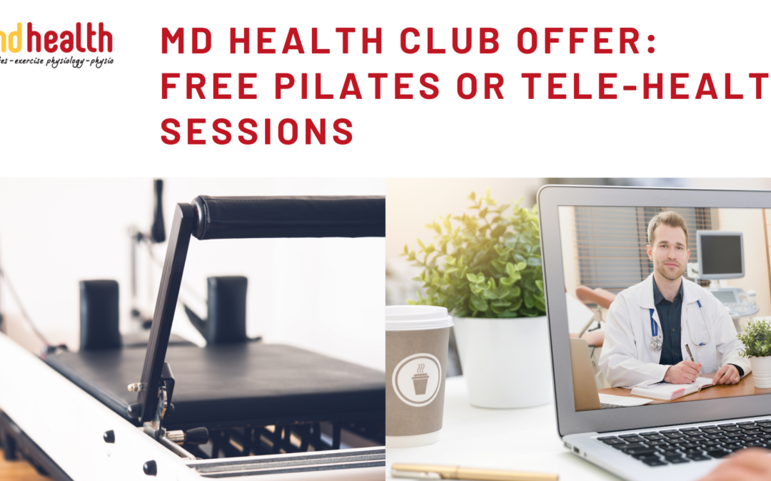 free pilates and free telehealth